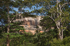 Sigiriya rock Stock Photography