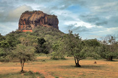 Sigiriya rock Royalty Free Stock Photo