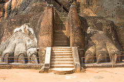 Sigiriya rock Royalty Free Stock Photography