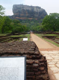 Sigiriya Rock Fort Royalty Free Stock Photos