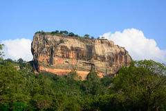 Sigiriya Rock Fortress Royalty Free Stock Photos