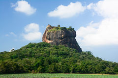Sigiriya Rock Fortress Royalty Free Stock Photo