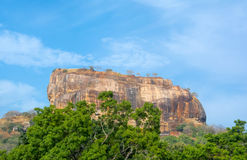 Sigiriya Rock Fortress 5 Century Ruined Castle. That Is Unesco Listed As A World Heritage Site In Sri Lanka Stock Photos