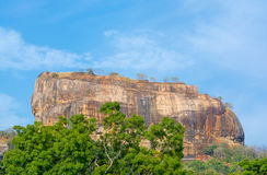 Sigiriya Rock Fortress 5 Century Ruined Castle. That Is Unesco Listed As A World Heritage Site In Sri Lanka Royalty Free Stock Image