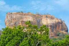 Sigiriya Rock Fortress 5 Century Ruined Castle. That Is Unesco Listed As A World Heritage Site In Sri Lanka Royalty Free Stock Photos