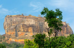 Sigiriya Rock Fortress 5 Century Ruined Castle. That Is Unesco Listed As A World Heritage Site In Sri Lanka Stock Image