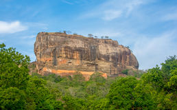Sigiriya Rock Fortress 5 Century Ruined Castle. That Is Unesco Listed As A World Heritage Site In Sri Lanka Royalty Free Stock Photography