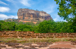 Sigiriya Rock Fortress 5 Century Ruined Castle. That Is Unesco Listed As A World Heritage Site In Sri Lanka Royalty Free Stock Images