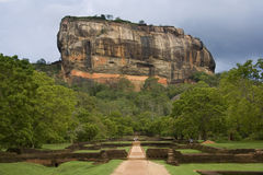 Sigiriya Rock Fortress - Sri Lanka Stock Photography