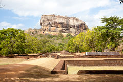 Sigiriya rock fortress, sri lanka Royalty Free Stock Image