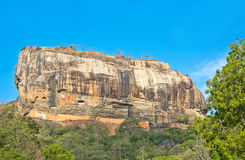 Sigiriya Rock Fortress, Sri Lanka. Sigiriya (Lion Rock Sinhala: සීගිරිය, Tamil: சிகிரியா, pronounced see-gi-ri-yə) is an ancient Royalty Free Stock Photography