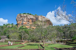Sigiriya Rock Fortress, Sri Lanka. Sigiriya Rock Fortress 5th Centurys Ruined Castle That Is Unesco Listed As A World Heritage Site In Sri Lanka Royalty Free Stock Image