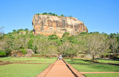 Sigiriya Rock Fortress, Sri Lanka. Sigiriya Rock Fortress 5th Centurys Ruined Castle That Is Unesco Listed As A World Heritage Site In Sri Lanka Royalty Free Stock Photography
