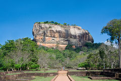 Sigiriya Rock Fortress, Sri Lanka. Sigiriya Rock Fortress 5th Centurys Ruined Castle That Is Unesco Listed As A World Heritage Site In Sri Lanka Royalty Free Stock Photo