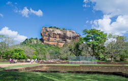 Sigiriya Rock Fortress, Sri Lanka Royalty Free Stock Photography
