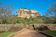 Sigiriya Rock Fortress, Sri Lanka. Sigiriya Rock Fortress 5th Centurys Ruined Castle That Is Unesco Listed As A World Heritage Site In Sri Lanka Royalty Free Stock Images