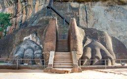 Sigiriya Rock Fortress, Sri Lanka Stock Photos