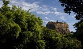 Sigiriya Rock, Sri Lanka. Sigiriya Rock, Mount of Rememberance, World Heritage site, Sri Lanka Royalty Free Stock Image