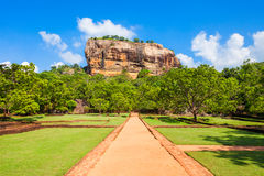 Sigiriya Rock, Sri Lanka Royalty Free Stock Photo