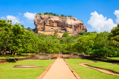 Sigiriya Rock, Sri Lanka Royalty Free Stock Image