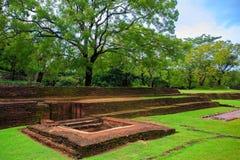 Sigiriya rock in Sri Lanka Royalty Free Stock Image