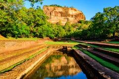 Sigiriya rock in Sri Lanka Stock Image