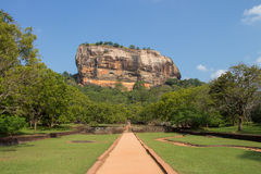 Sigiriya Rock, Sri Lanka Stock Photography