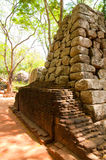 Sigiriya - ruína antiga do palácio Foto de Stock