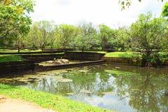 Sigiriya ruins stock images