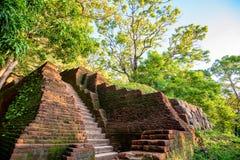Sigiriya ruiny kompleks fotografia royalty free