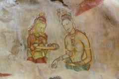 Sigiriya skały forteca przy Matale, Sri Lanka Obraz Royalty Free