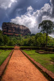 Sigiriya, Sri Lanka Fotografia Stock