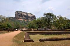 Sigiriya Sri Lanka Fotografie Stock Libere da Diritti
