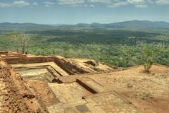 Sigiriya, Sri Lanka - Lion's Rock, Rock Fortress Royalty Free Stock Image