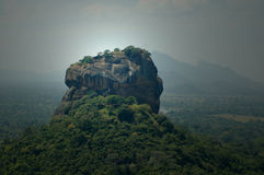 Sigiriya - Sri Lanka. Sigiriya or Sinhagiri & x28;Lion Rock& x29; is an ancient rock fortress located in the northern Matale District near the town of Dambulla Stock Photography