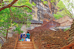 Sigiriya - Sri Lanka UNESCO World Heritage royalty free stock photos