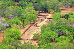 Sigiriya - Sri Lanka UNESCO World Heritage royalty free stock photography