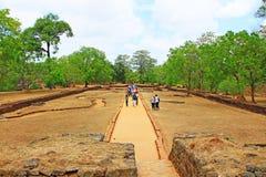 Sigiriya - Sri Lanka UNESCO World Heritage Stock Image