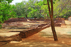 Sigiriya - Sri Lanka UNESCO World Heritage Stock Photo