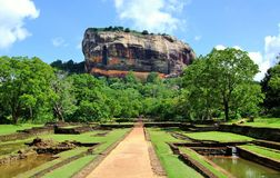 Sigiriya srilanka royalty free stock photos