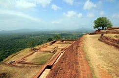 Sigiriya Summit Ruin Stock Photography