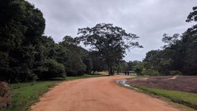 Sigiriya, um reino antigo foto de stock royalty free