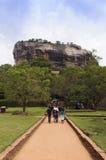 Sigiriya vaggar fästningen Royaltyfri Bild