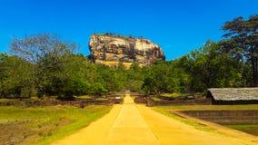 Sigiriya very popular place in sri lanka stock images