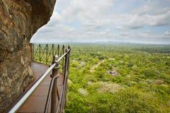 Sigiriya. View from Sigiriya in Sri Lanka. Sigiriya is on World Heritage Sites (UNESCO Stock Images