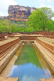 Sigiriya Water Garden - Sri Lanka UNESCO World Heritage Stock Photography