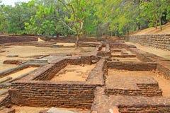 Sigiriya Water Garden - Sri Lanka UNESCO World Heritage Stock Image
