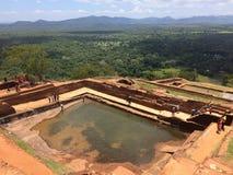 Sigirya,斯里兰卡 免版税库存图片