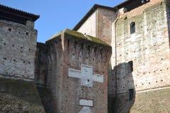 Sigismondo Castle (Castello Sidzhizmondo). Stock Images