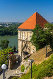 Sigismund Gate To Bratislava Castle Royalty Free Stock Photos